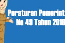 PP 49 Tahun 2018 Tentang Manajemen PPPK
