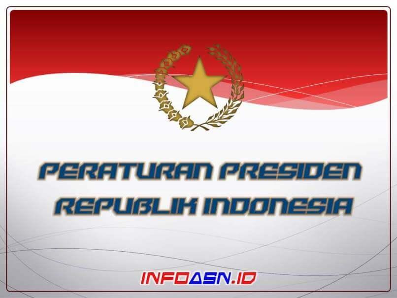 Peraturan Presiden Nomor 141 Tahun 2018