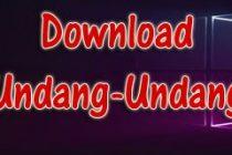Download Undang-Undang Nomor 9 Tahun 2015
