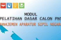 Modul Latsar CPNS 2019 Gol III - Manajemen ASN