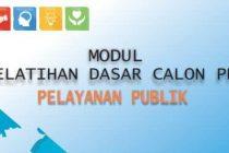Download Modul Materi Diklatsar CPNS Gol III - Pelayanan Publik