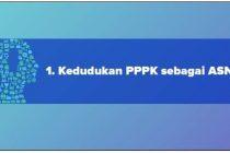 Inilah kedudukan PPPK sebagai ASN