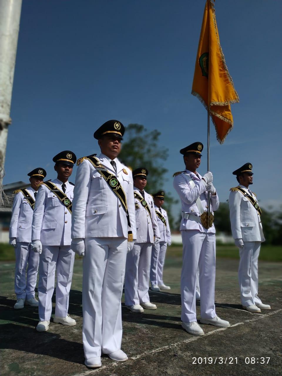 IKAPTK Kabupaten Kapuas Menjadi Pasukan Pataka Dalam Peringatan Hari Jadi Kabupaten Kapuas ke 213