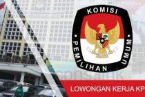 Lowongan Kerja KPU 2019 - Pengumuman Penerimaan Tenaga Pendukung KPU RI