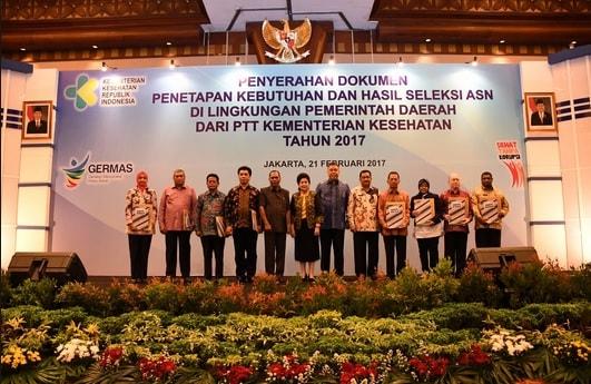 Inilah Kabupaten Kota Yang Menerima Penetapan Formasi CPNS PTT Kemenkes 2019, Cek Daftarnya