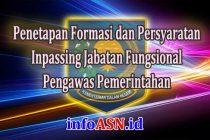 Cara Penetapan Formasi dan Persyaratan Inpassing Jabatan Fungsional Pengawas Pemerintahan