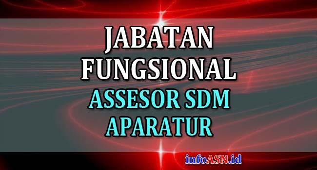 Jabatan Fungsional Assessor SDM Aparatur dan Angka Kreditnya