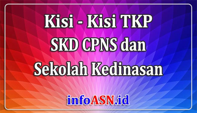 Kisi-kisi TKP SKD CPNS/Sekolah Kedinasan