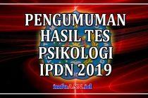 Pengumuman-hasil-tes-psikologi-IPDN-2019