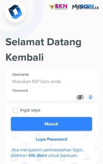 Login MySAPK 2.0