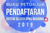 Buku Petunjuk Pendaftaran SSCN 2019-infoasn.id