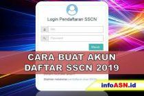 Cara Buat Akun Daftar CPNS 2019