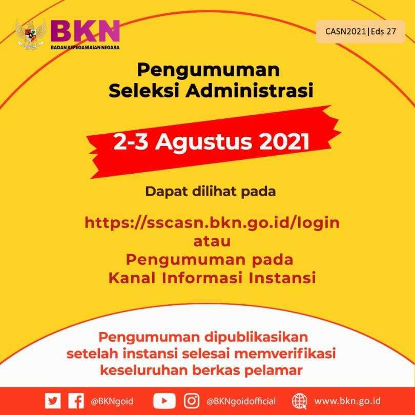 Cara Mengajukan Sanggahan Pada Masa Sanggah Hasil Seleksi Administrasi CPNS 2021