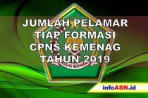 Data Jumlah Pelamar CPNS 2019 Kemenag