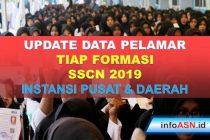 Update Data Pelamar Tiap Formasi