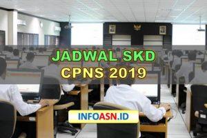 Jadwal SKD CPNS 2019