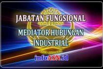 Jabatan Fungsional Mediator Hubungan Industrial