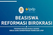 Kemenpan RB : Video Penjelasan Program Beasiswa RB Program Master Double Degree