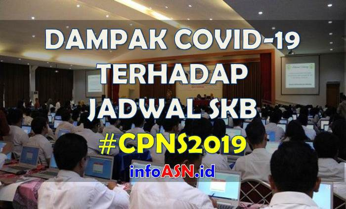 Dampak Virus Corona Jadwal Tes SKB CPNS