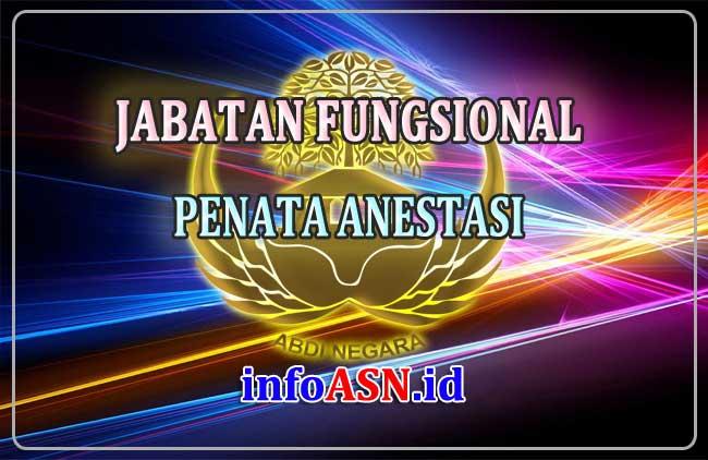 Jabatan Fungsional Penata Anestesi