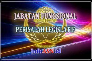 Jabatan Fungsional Perisalah Legislatif