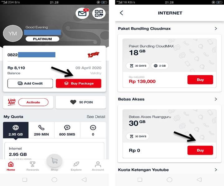 Cara Aktivasi Gratis Telkomsel 30GB Sebulan Akses Belajar Online via Ruangguru