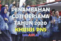 Penambahan Cuti Bersama PNS 2020-min