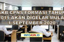 Jadwal SKB CPNS Formasi Tahun 2019-min