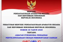 PermenPANRB Nomor 36 Tahun 2020-Jabatan Fungsional Pengawas Penyelenggaraan Urusan Pemerintahan Daerah