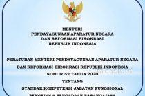 Permenpan-Nomor-52-Tahun-2020-Standar Kompetensi JF Pengelola Pengadaan Barang -Jasa