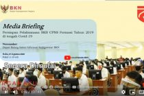 Briefing Persiapan Pelaksanaan SKB CPNS Formasi Tahun 2019 di tengah Covid-19