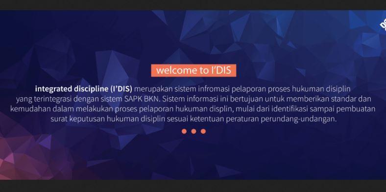 Aplikasi IDIS BKN