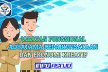 Jabatan Fungsional Adyatama Kepariwisataan dan Ekonomi Kreatif dan Angka Kreditnya