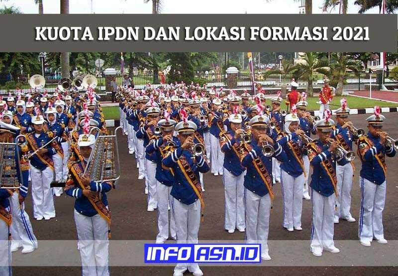 Daftar Kuota IPDN 2021 dan Lokasi Formasi Penerimaan