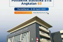 Syarat dan Cara Pendaftaran Sekolah Kedinasan STIS 2021