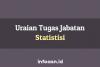 8 Butir Uraian Tugas Jabatan Statistisi Ahli Utama