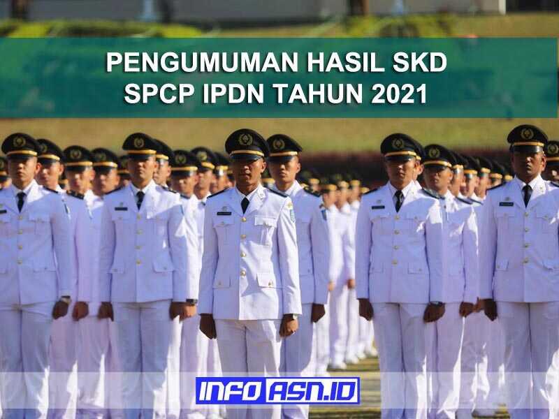 Pengumuman Hasil SKD IPDN Provinsi Kep. Bangka Belitung Tahun 2021